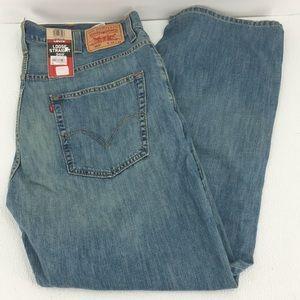 LEVI'S 569 * Men's Loose Straight Blue Jeans *